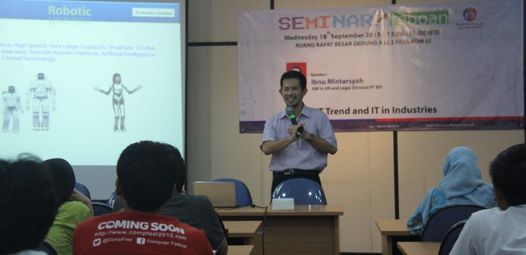 Seminar Reboan : Trend IT and IT in Industries