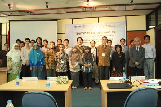 Seminar on Informatics Asia 2014