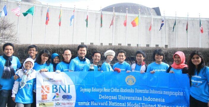 Mahasiswa Fasilkom di Harvard National Model United Nations