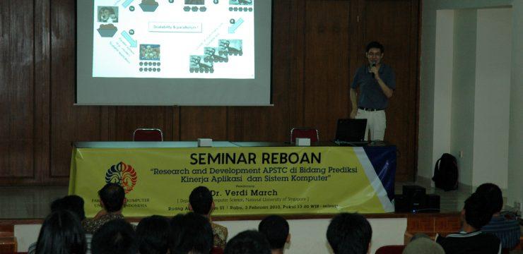 Seminar Prediksi Aplikasi dan Sistem Komputer