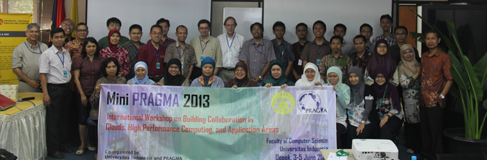 Workshop: Mini PRAGMA International