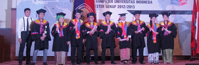 Syukuran & Pelepasan Wisudawan Fasilkom UI Tahun Akademik ( 2012/2013)