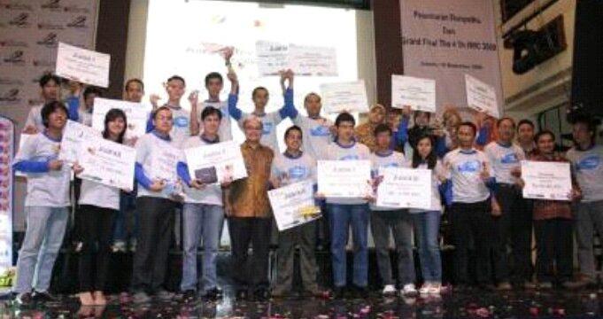 Rizky Syaiful Juara Empat IWIC 2009