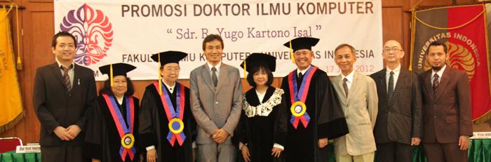 Promosi Doktor Fasilkom UI 2012 | Dr. Yugo Kartono Isal