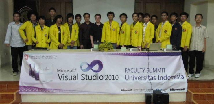 Visual Studio 2010 Faculty Summit