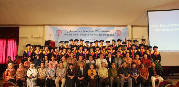 Syukuran & Pelepasan Wisudawan/ti Fasilkom UI Akademik ( 2012/2013)