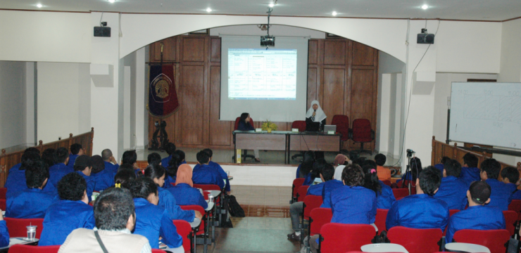 Kunjungan Mahasiswa STMIK Handayani Makassar