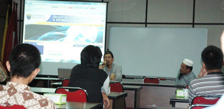 Seminar Pengalaman Riset di Malaysia