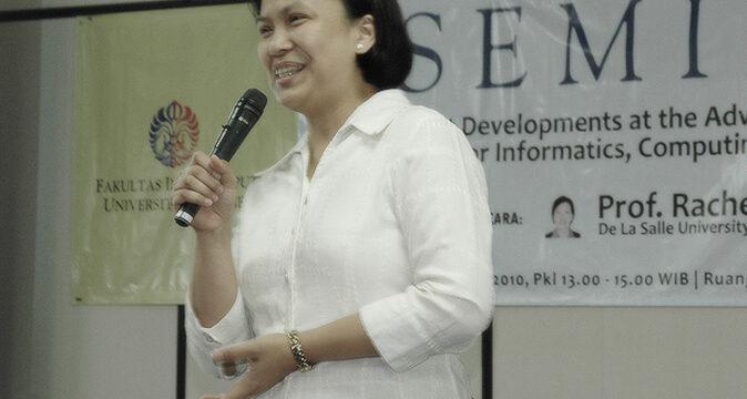 Seminar dan Kunjungan Prof. Rachel E. Roxas