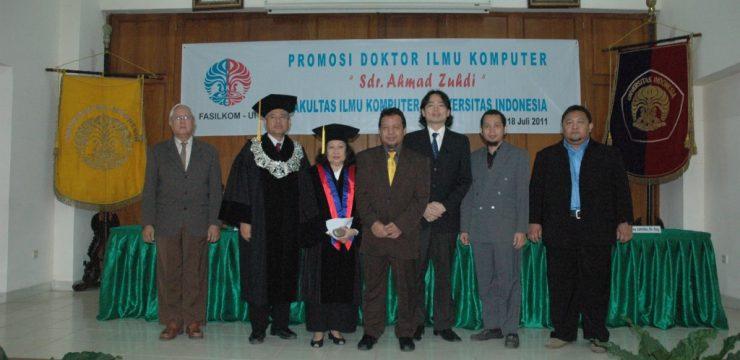Sidang Promosi Doktor Fasilkom UI 2011