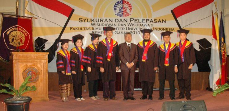 Pelepasaan Wisudawan/Wisudawati Fakultas Ilmu Komputer UI