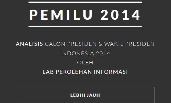 Fasilkom UI Hadirkan Layanan Analisis Capres 2014