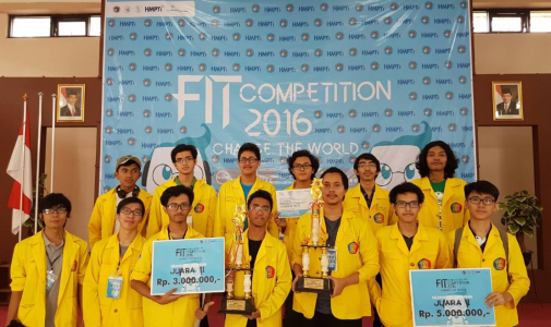 Mahasiswa Fasilkom UI Juarai Kategori Cyber Security di Ajang FIT Competition 2016