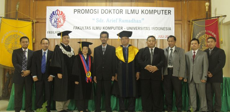 Promosi Doktor Fasilkom UI 2013 – Dr. Arief Ramadhan