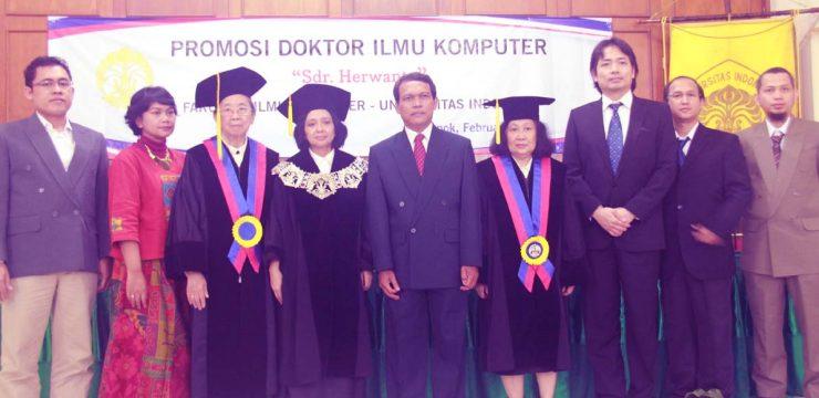 Promosi Doktor Fasilkom UI 2014 – Dr. Herwanto