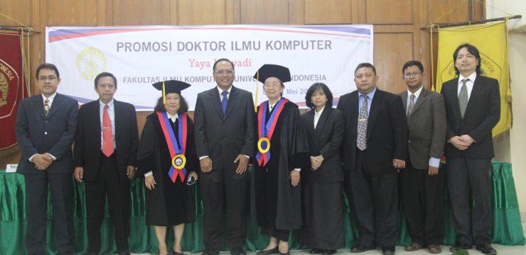 Promosi Doktor Fasilkom UI 2014 – Dr. Yaya Heryadi