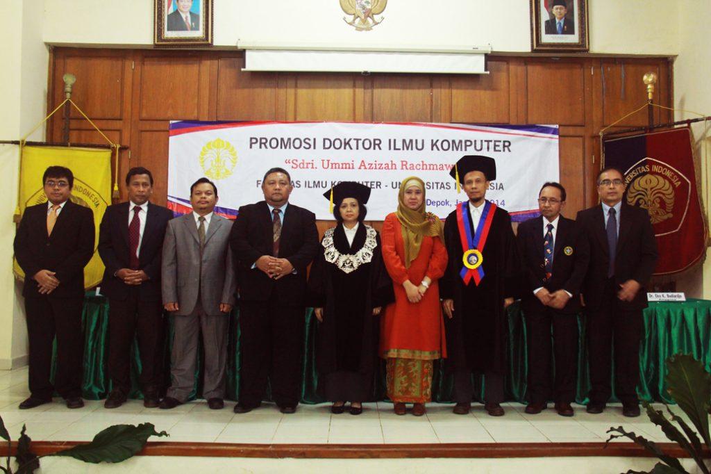 Promosi-Doktor-Fasilkom-UI-2014---Dr.-Ummi-Azizah-Rachmawati