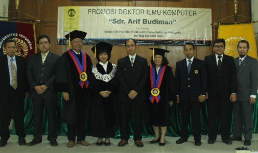 Promosi Doktor Ilmu Komputer – Dr. Arif Budiman