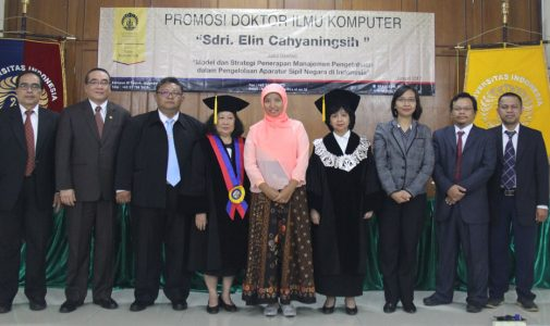 Promosi Doktor Ilmu Komputer – Dr. Elin Cahyaningsih