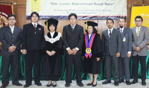 Promosi Doktor Ilmu Komputer – Dr. Laode Mohammad Rasdi Rere