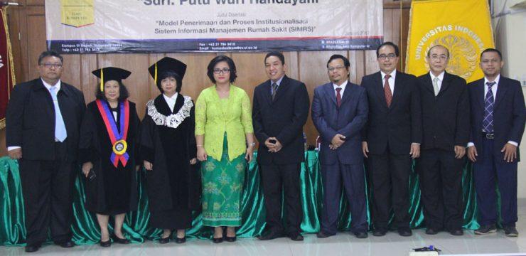 Promosi Doktor Ilmu Komputer – Dr. Putu Wuri Handayani