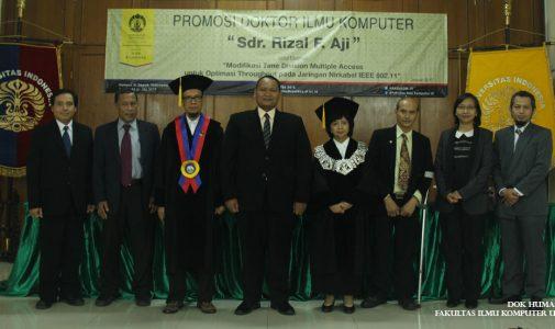 Promosi Doktor Ilmu Komputer – Dr. Rizal Fathoni Aji
