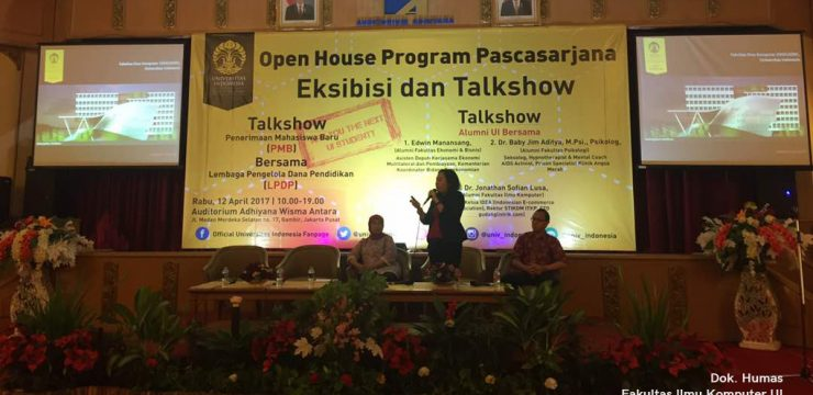 Fasilkom UI di Open House Program Pascasarjana 2017