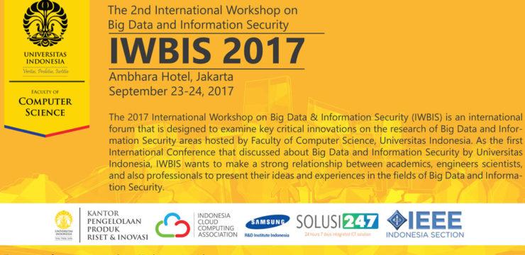 FASILKOM UI Gelar IWBIS 2017