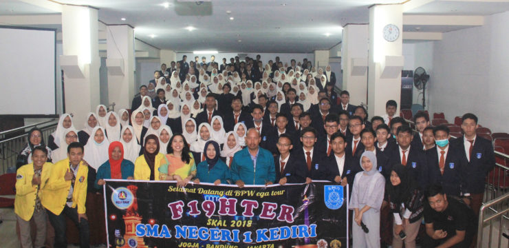 Kunjungan SMA Negeri 1 Kediri ke Fasilkom UI