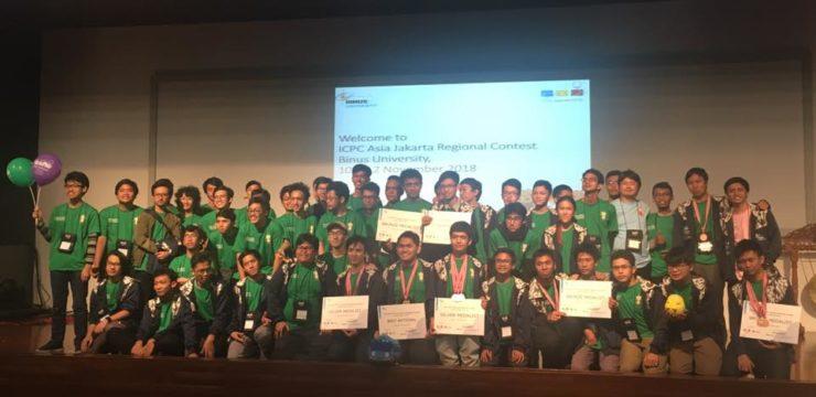 Tim Fasilkom UI Capai Top 10 ICPC Asia Regional Jakarta 2018