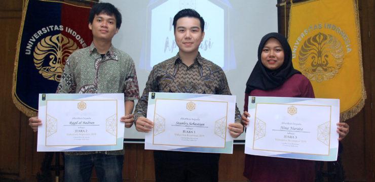Apresiasi Bagi Mahasiswa Berprestasi Fasilkom UI 2019
