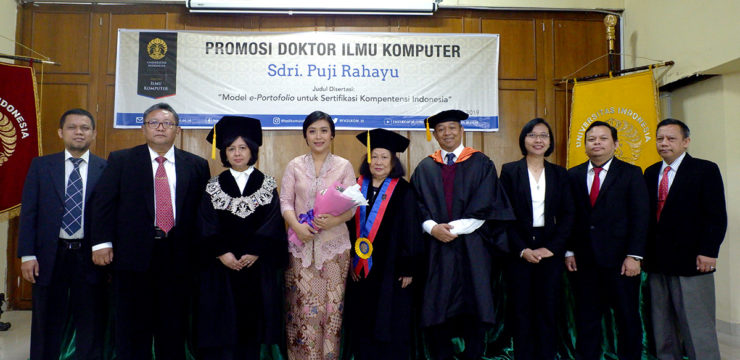 Mahasiswa Doktor Fasilkom UI Menyusun Model e-Portofolio Guna Sertifkasi Kompetensi Profesi di Indonesia
