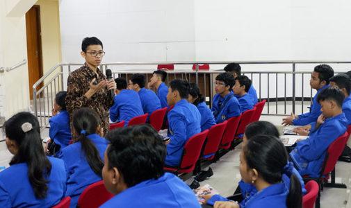 Kunjungan SMA Negeri 4 Denpasar ke Fasilkom UI