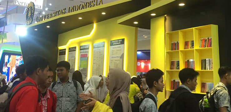 Fasilkom UI Berpartisipasi pada Indonesia International Education Training & Scholarship Expo 2020