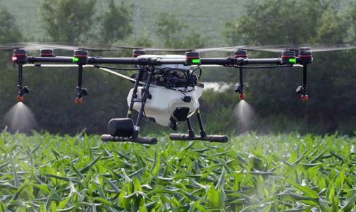 Metode Jalur Penyemprotan Mandiri Drone tanpa Awak Pembasmi Hama Tanaman