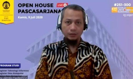 Fasilkom UI Menyelenggarakan Open House Pascasarjana secara Daring